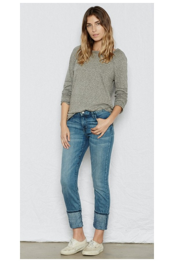 The Cuffed Skinny Jean