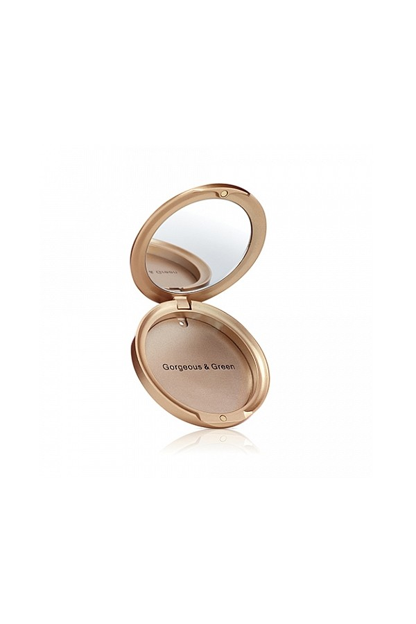 Refillable Compact - Gold