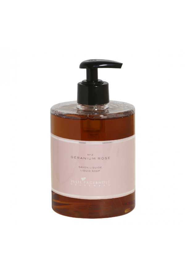 Géranium Rose Liquid Soap - 500 ml